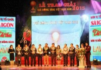 LAVO CORPORATION PROUDLY SPONSORED FOR VIETNAM GOLDEN BALL AWARD CEREMONY 2015.
